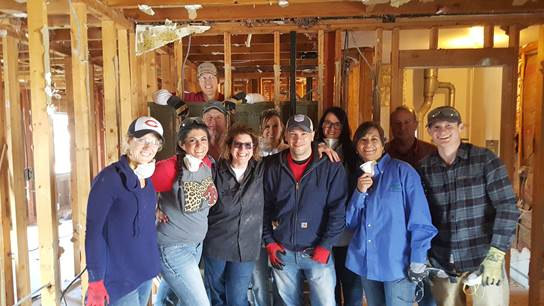 Habitat for Humanity Volunteer Event